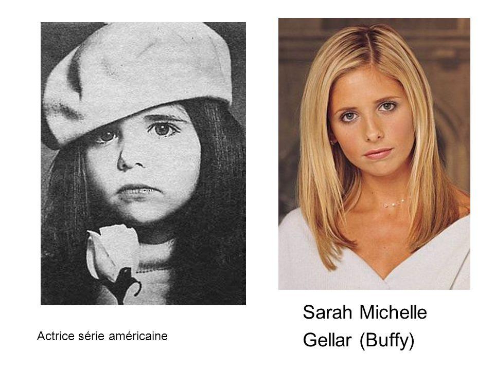 Sarah Michelle Gellar (Buffy) Actrice série américaine