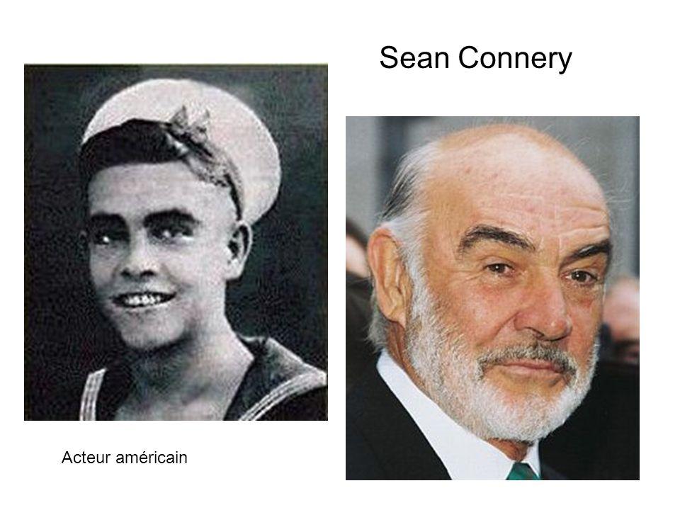 Sean Connery Acteur américain
