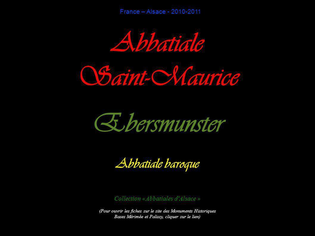 Abbatiale Saint-Maurice Ebersmunster