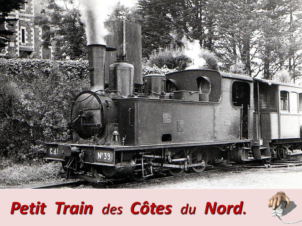 Petit Train des Côtes du Nord.