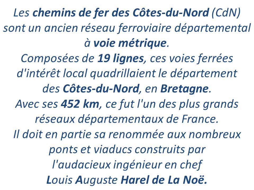 Les chemins de fer des Côtes-du-Nord (CdN)