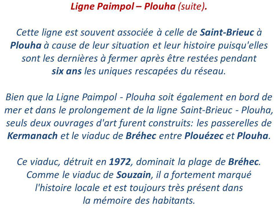 Ligne Paimpol – Plouha (suite)