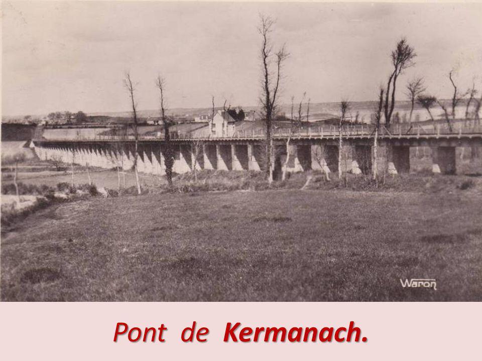 Pont de Kermanach.