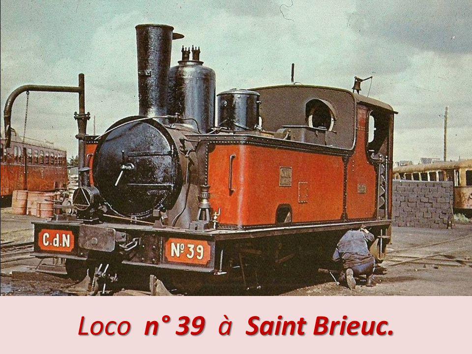 Loco n° 39 à Saint Brieuc.