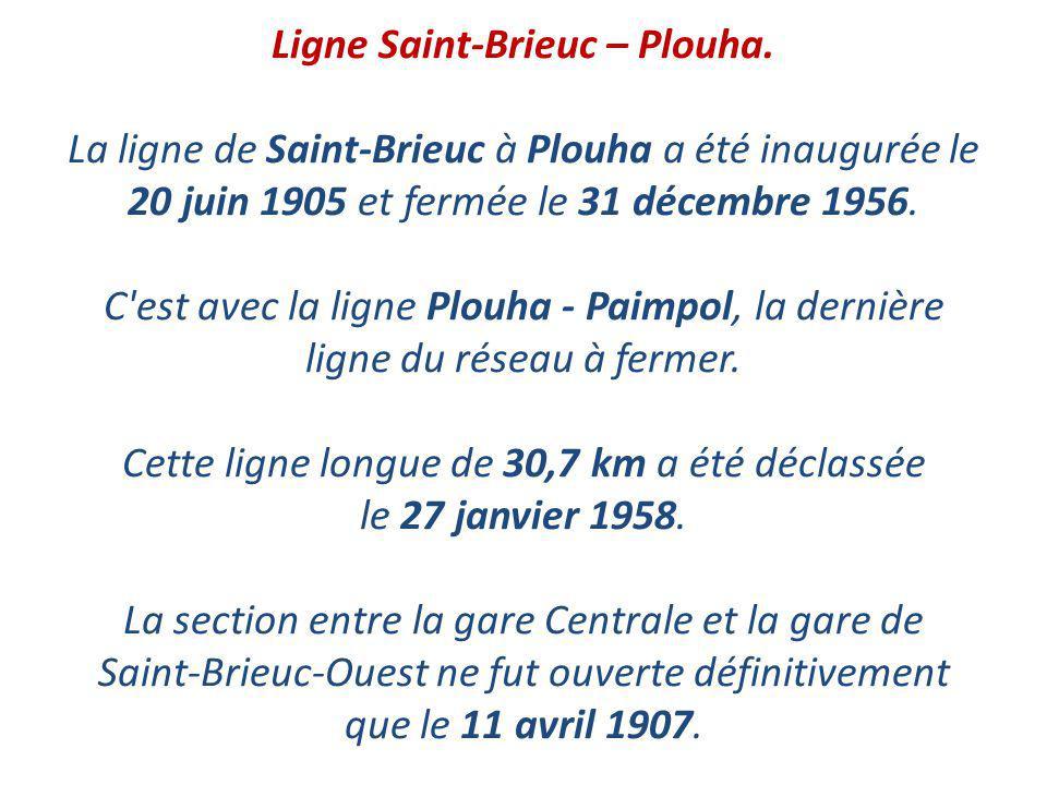 Ligne Saint-Brieuc – Plouha