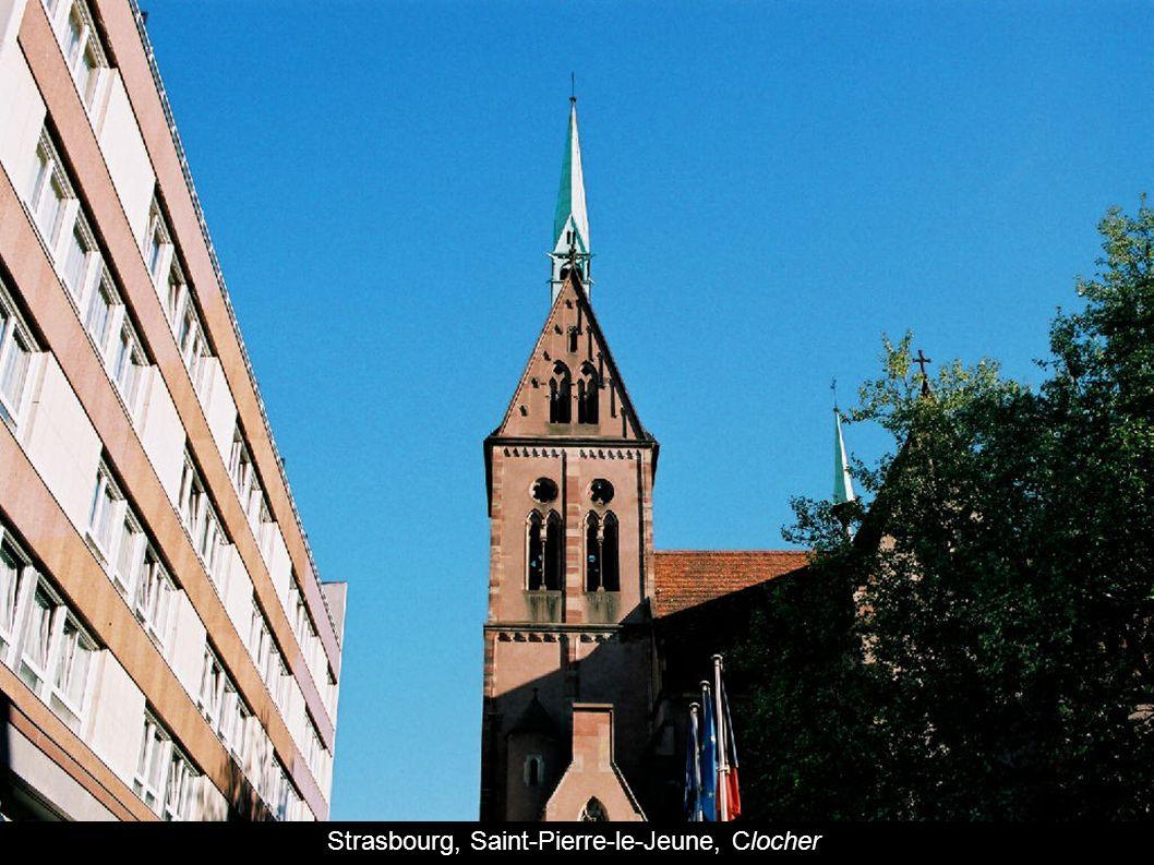 Strasbourg, Saint-Pierre-le-Jeune, Clocher