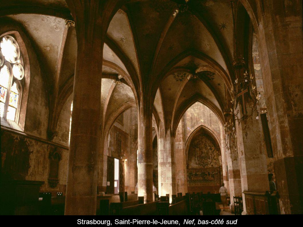 Strasbourg, Saint-Pierre-le-Jeune, Nef, bas-côté sud