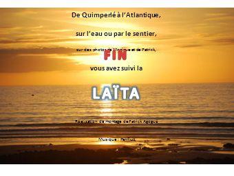 LAÏTA FIN De Quimperlé à l'Atlantique, sur l'eau ou par le sentier,