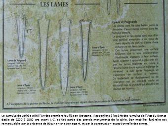 Le tumulus de Lothéa a été l'un des premiers fouillés en Bretagne