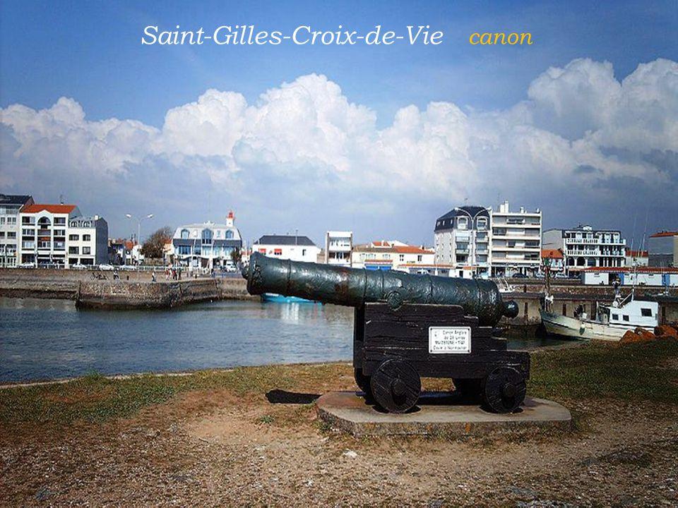 Saint-Gilles-Croix-de-Vie canon