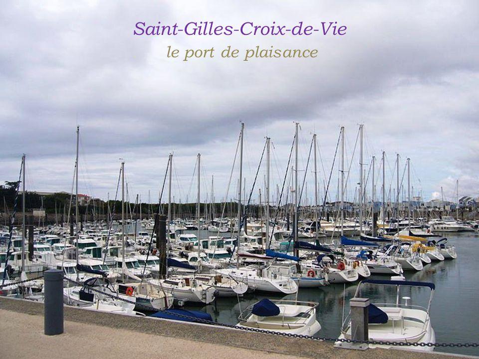 Saint-Gilles-Croix-de-Vie . le port de plaisance