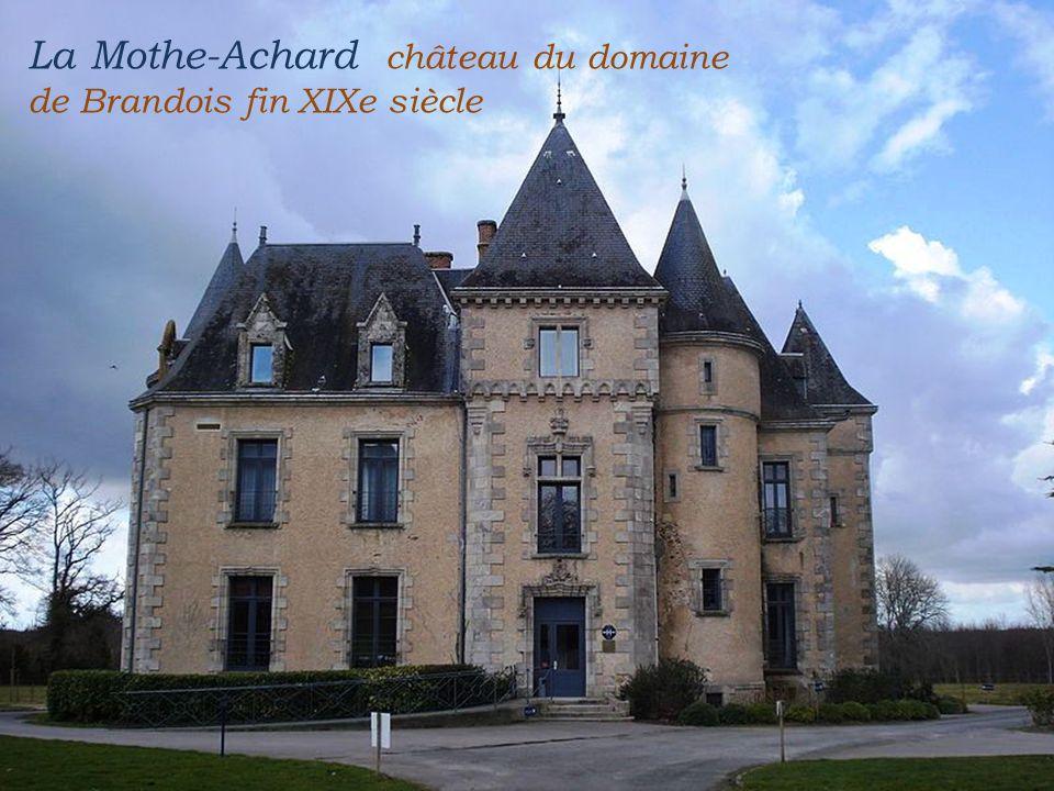La Mothe-Achard château du domaine de Brandois fin XIXe siècle