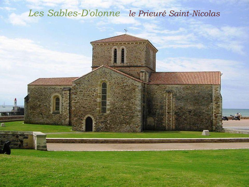 Les Sables-D olonne le Prieuré Saint-Nicolas