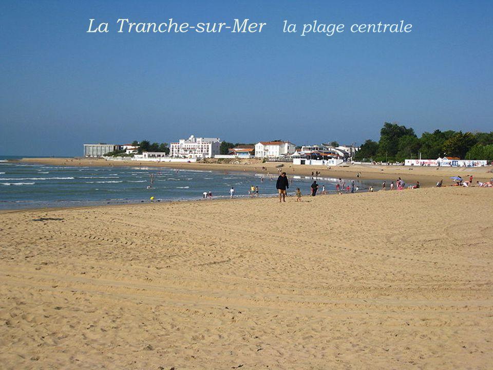 La Tranche-sur-Mer la plage centrale