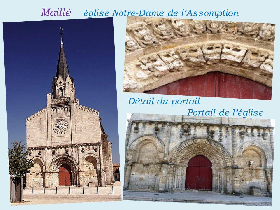 Maillé église Notre-Dame de l'Assomption