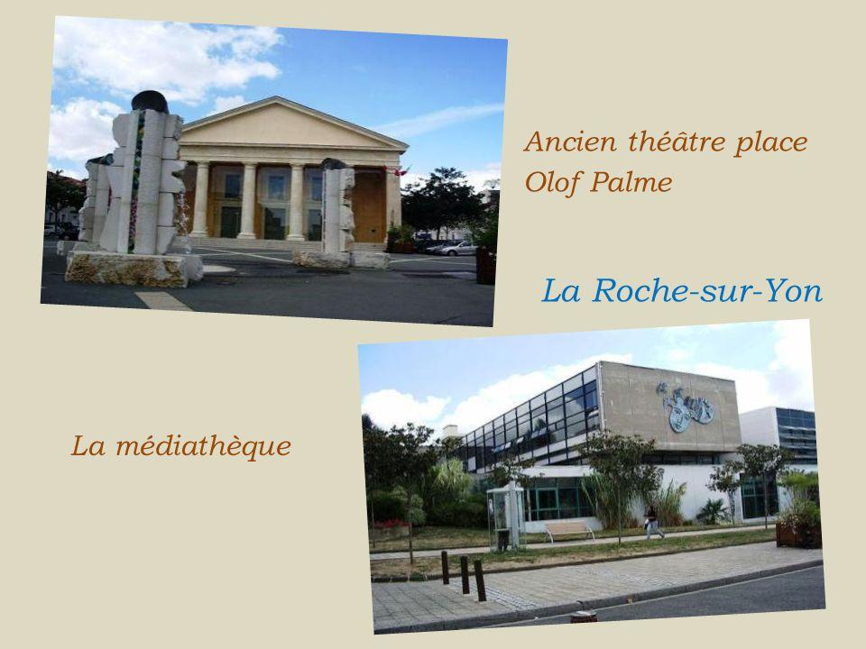 Ancien théâtre place Olof Palme . . . La Roche-sur-Yon