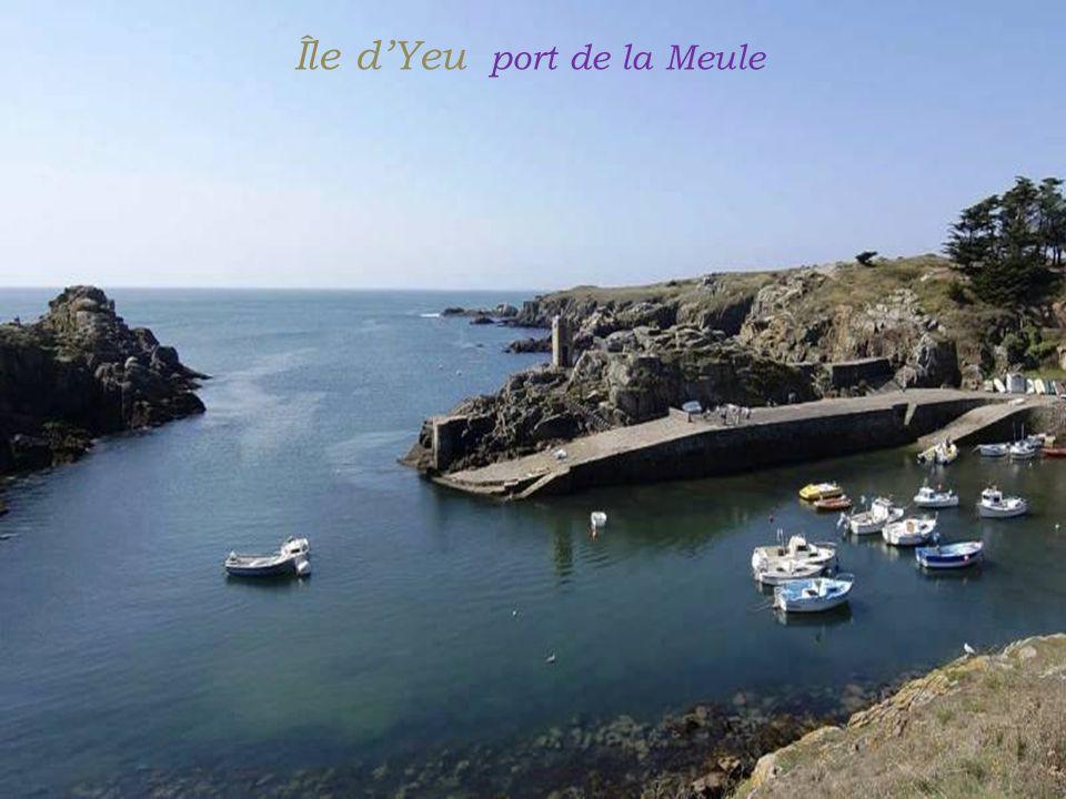 Île d'Yeu port de la Meule