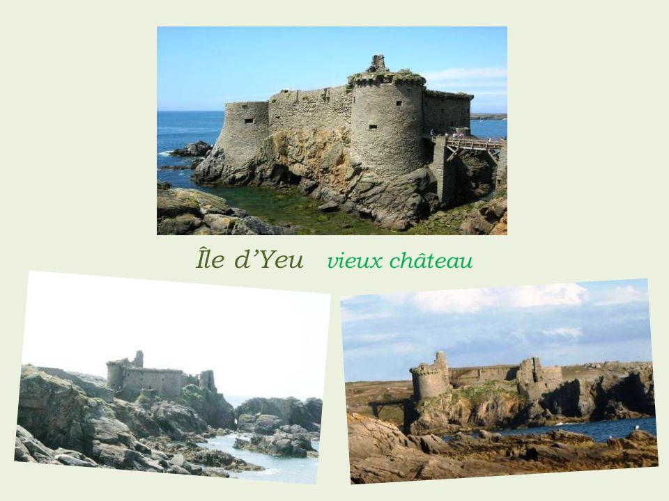 Île d'Yeu vieux château