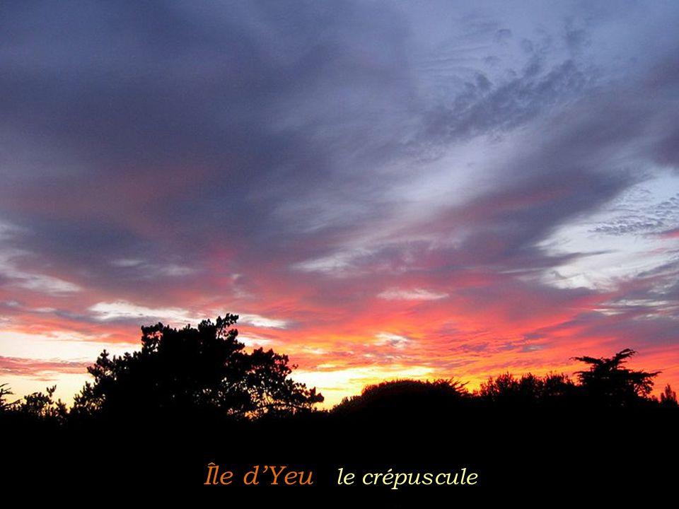 Île d'Yeu le crépuscule