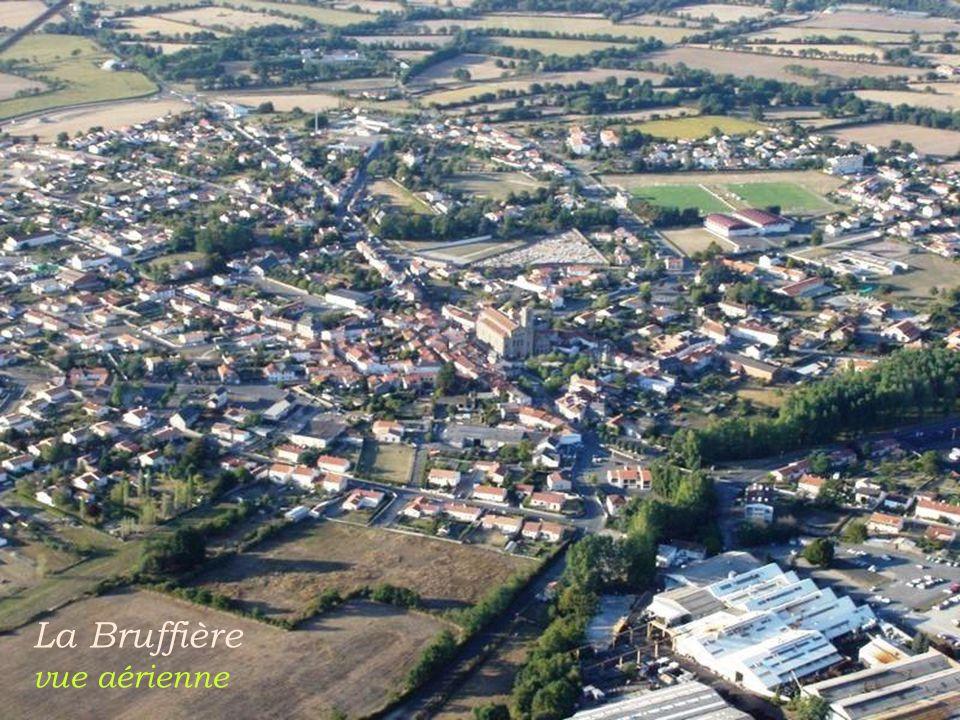 La Bruffière vue aérienne