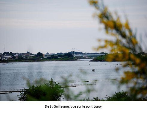 De St Guillaume, vue sur le pont Loroy