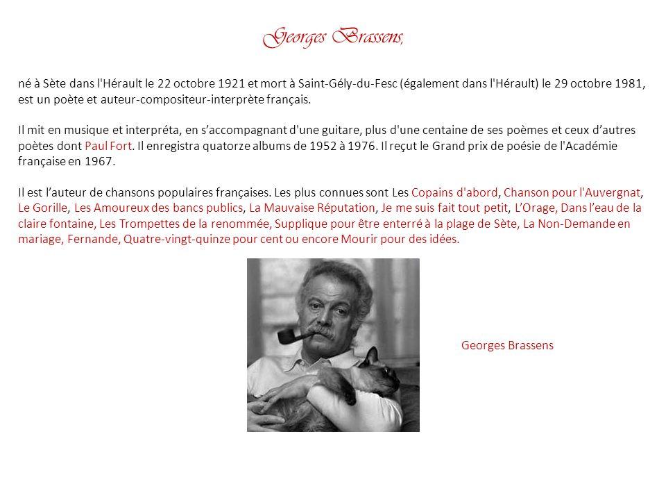 Georges Brassens,