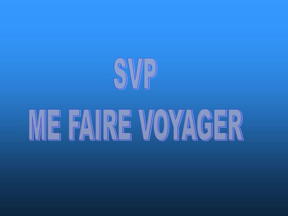 SVP ME FAIRE VOYAGER