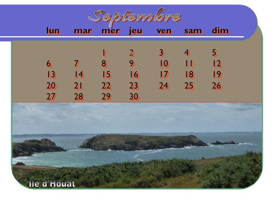 Septembre lun mar mer jeu ven sam dim 1 2 3 4 5 6 7 8 9 10 11 12