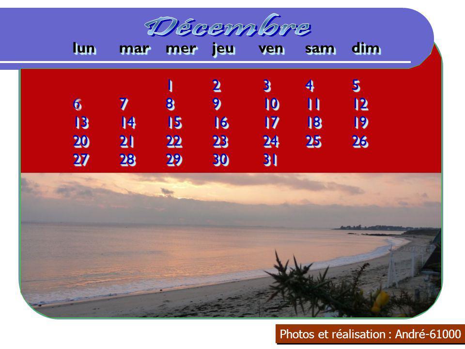 Décembre lun mar mer jeu ven sam dim 1 2 3 4 5 6 7 8 9 10 11 12