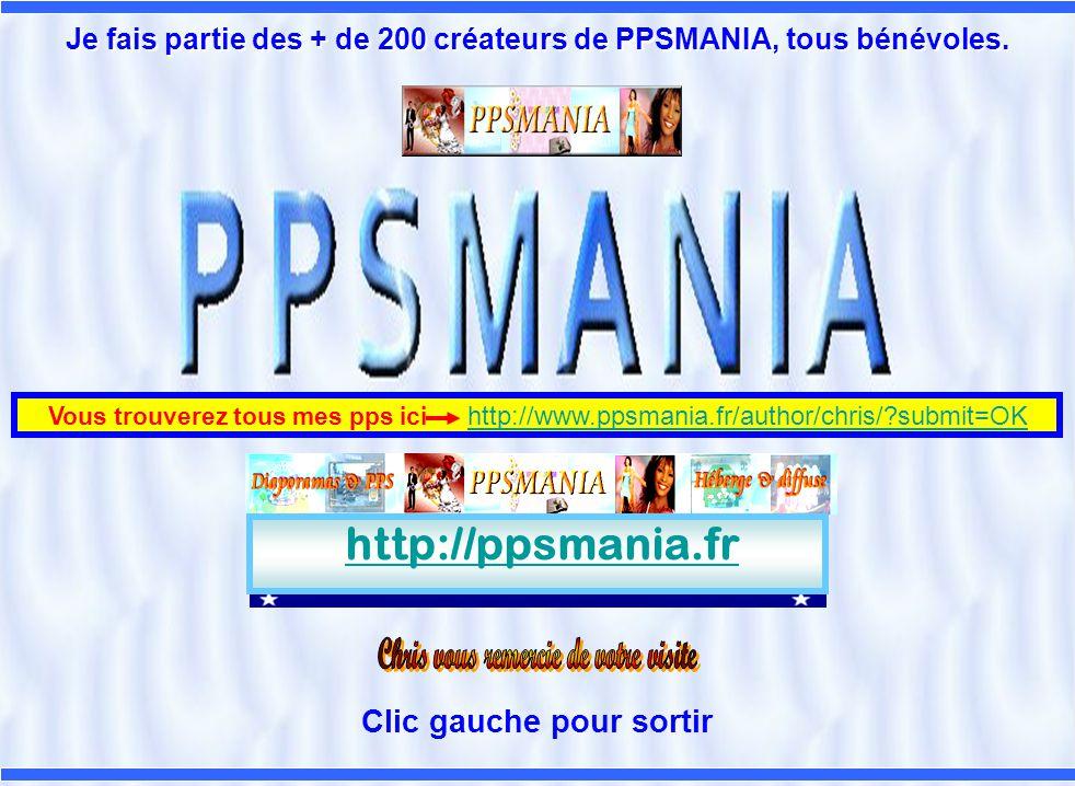http://ppsmania.fr Clic gauche pour sortir