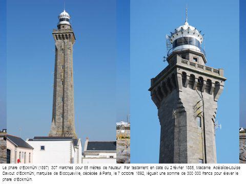 Le phare d'Eckmühl (1897) 307 marches pour 65 mètres de hauteur
