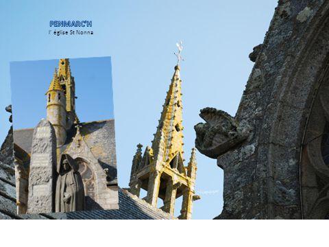 PENMARC'H l' église St Nonna