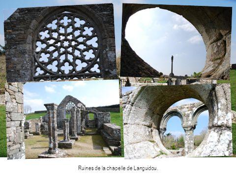 Ruines de la chapelle de Languidou.
