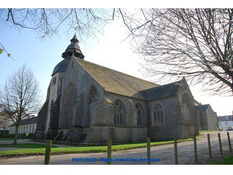 PONT L'ABBE : l'église Notre-Dame des Carmes