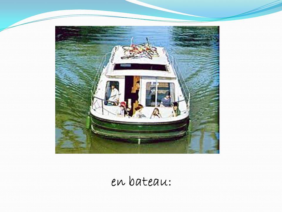 en bateau: