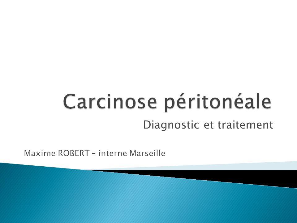 Carcinose péritonéale