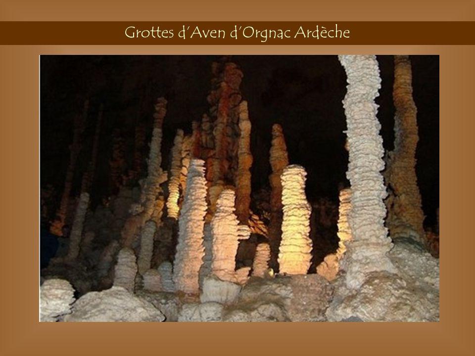Grottes d'Aven d'Orgnac Ardèche