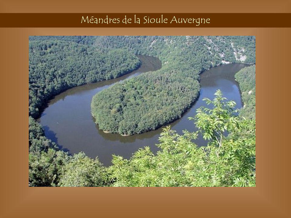 Méandres de la Sioule Auvergne