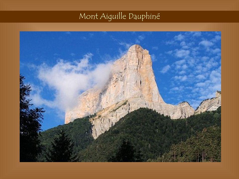 Mont Aiguille Dauphiné
