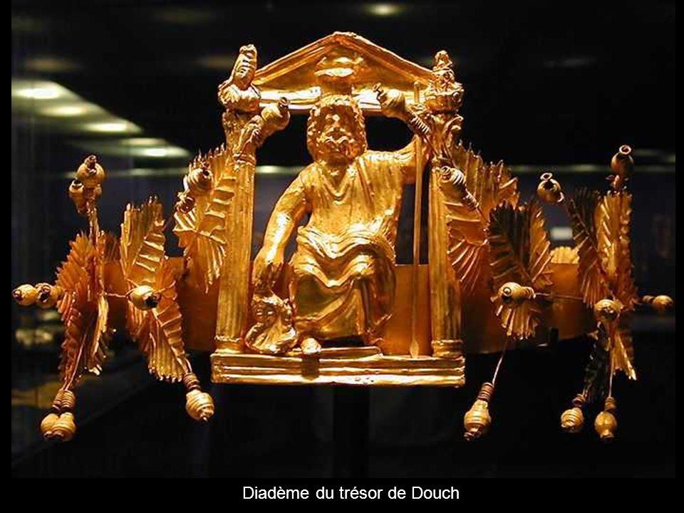 Diadème du trésor de Douch