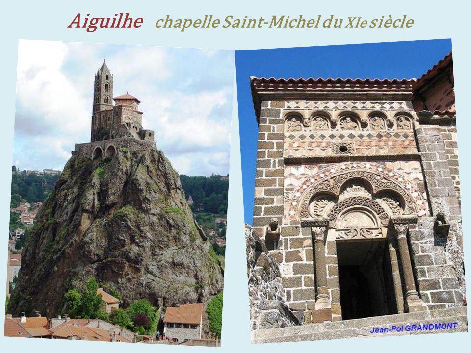 Aiguilhe chapelle Saint-Michel du XIe siècle