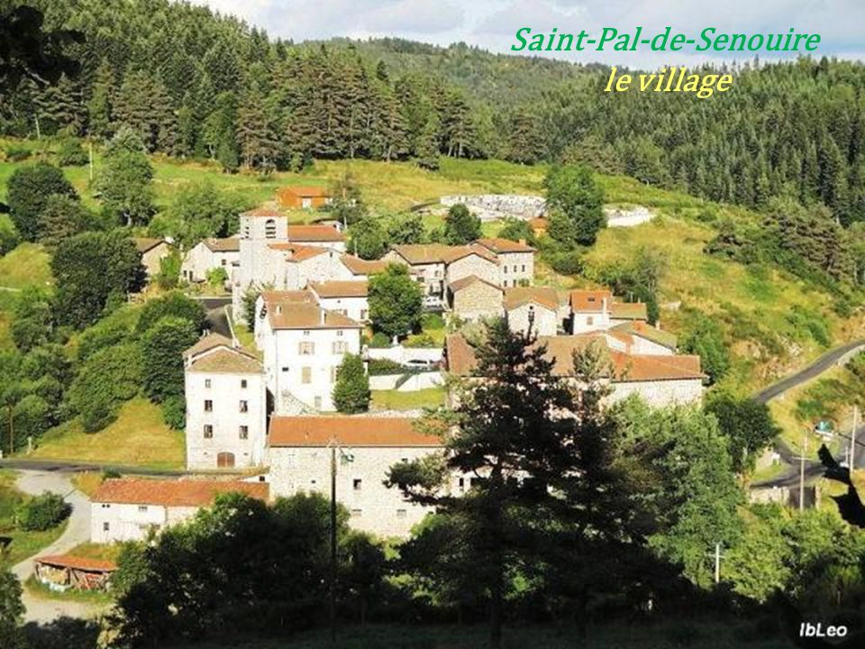 Saint-Pal-de-Senouire . le village