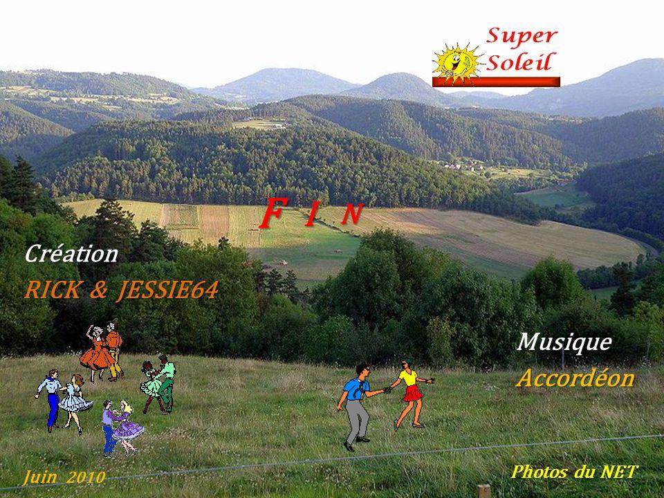 F I N Création RICK & JESSIE64 Musique Accordéon Photos du NET