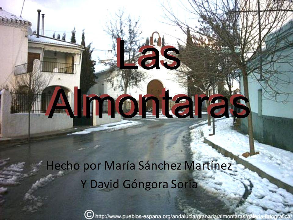 Hecho por María Sánchez Martínez Y David Góngora Soria