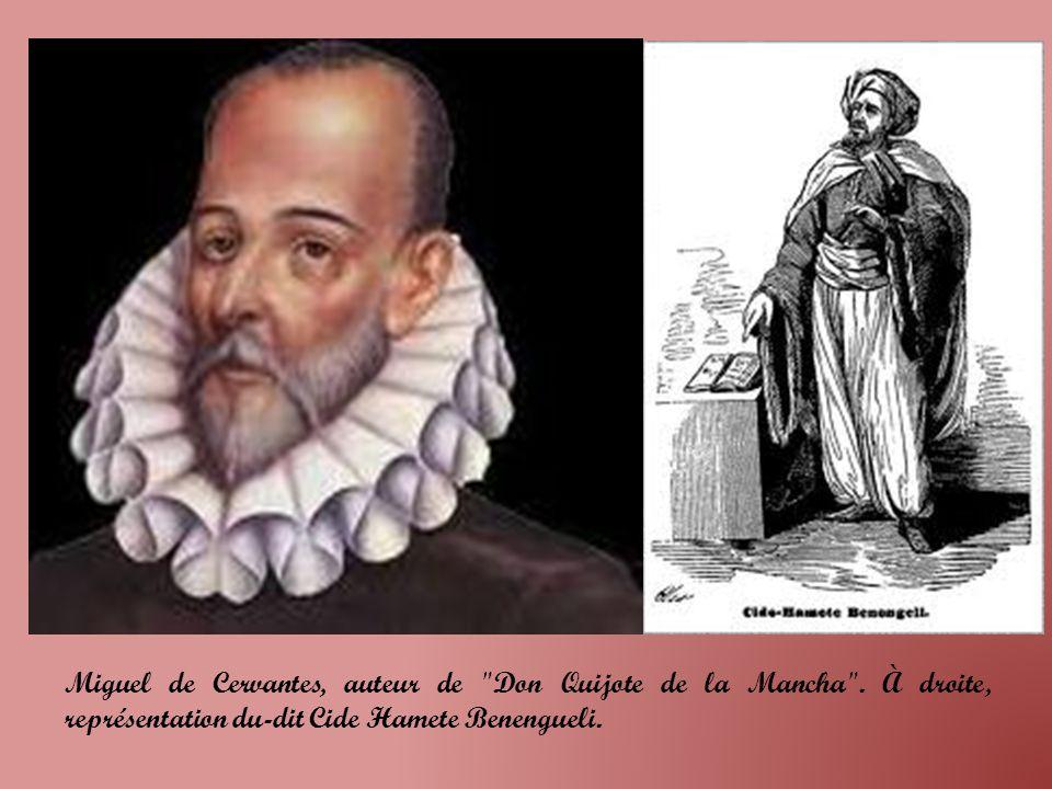 Miguel de Cervantes, auteur de Don Quijote de la Mancha