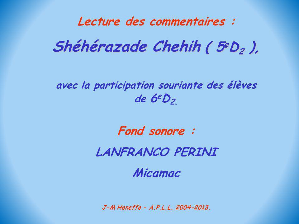Shéhérazade Chehih ( 5eD2 ),