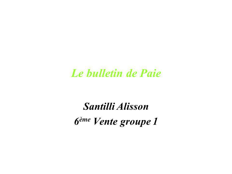 Santilli Alisson 6ème Vente groupe 1