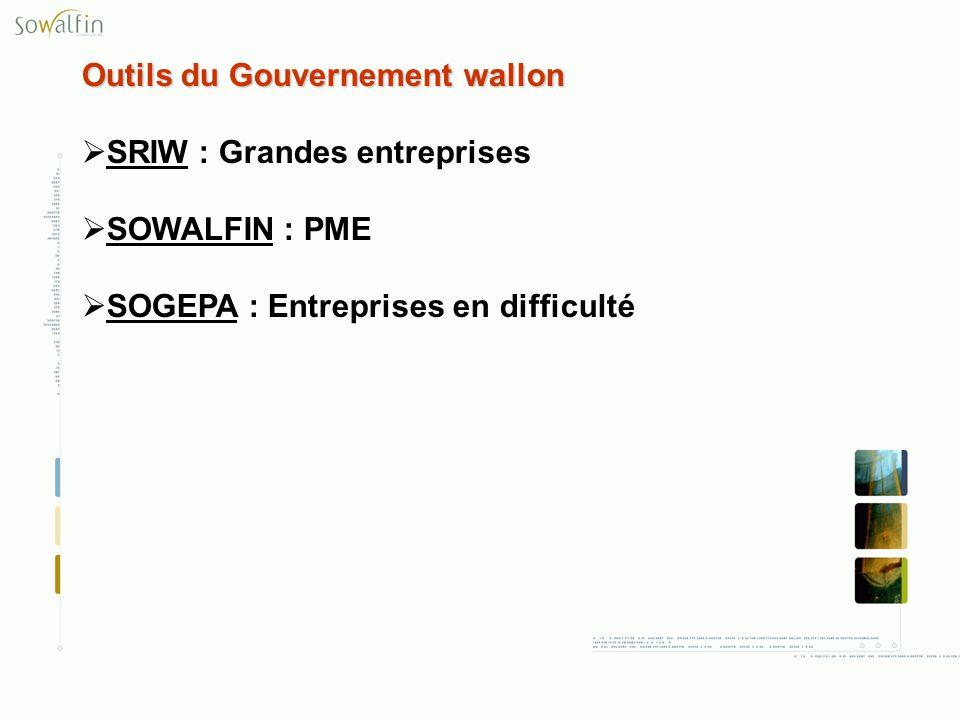 Outils du Gouvernement wallon