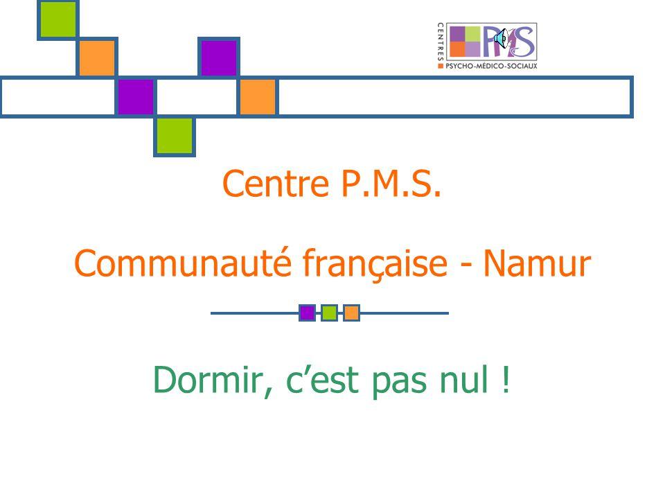 Centre P.M.S. Communauté française - Namur