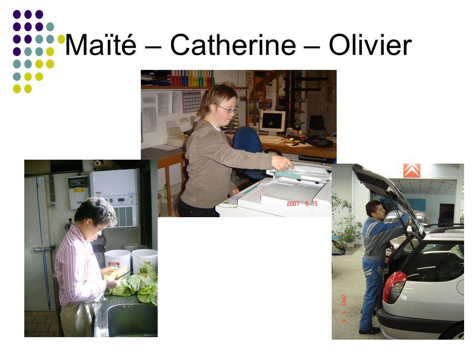 Maïté – Catherine – Olivier